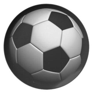 Soccer Dinner Plate