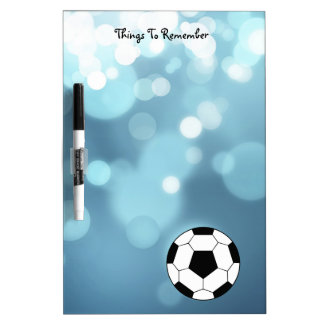 Soccer Dry Erase Message Boards