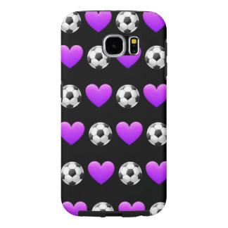 Soccer Emoji Samsung Galaxy S6 Phone Case