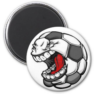 soccer face magnet