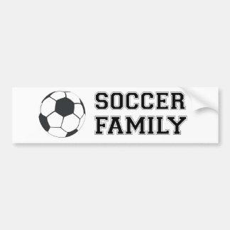 Soccer Family Bumper Sticker
