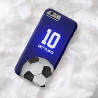 Soccer Fan | Best Player No Barely There iPhone 6 Case