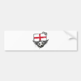 Soccer fan England Bumper Sticker