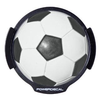Soccer Fan Gift Idea LED Light Up Decal LED Car Decal