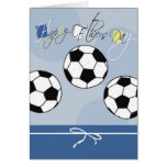 Soccer Father's Day Card