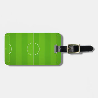 Soccer field Football Luggage Tag