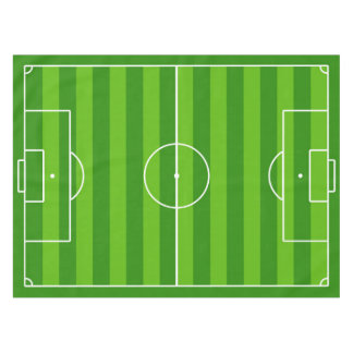 Soccer Field / Football Pitch Table Cloth Tablecloth
