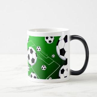Soccer Field Morph Mug