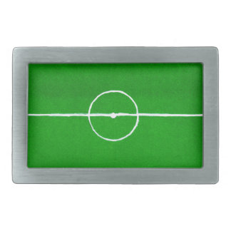 Soccer Field Sketch2 Belt Buckles