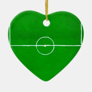 Soccer Field Sketch2 Ceramic Ornament