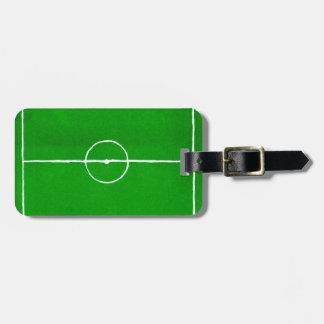 Soccer Field Sketch2 Luggage Tag
