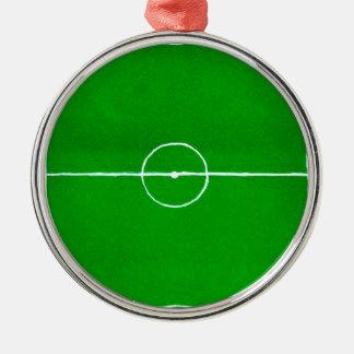 Soccer Field Sketch2 Metal Ornament
