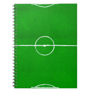 Soccer Field Sketch2 Notebook