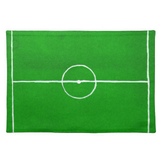 Soccer Field Sketch2 Placemat