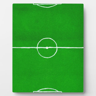 Soccer Field Sketch2 Plaque