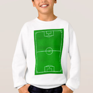 Soccer Field Sketch2 Sweatshirt