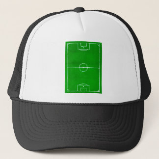 Soccer Field Sketch2 Trucker Hat