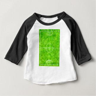 Soccer Field Sketch Baby T-Shirt