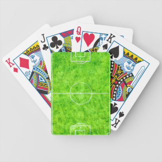 Soccer Field Sketch Bicycle Playing Cards
