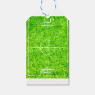 Soccer Field Sketch Gift Tags