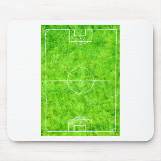 Soccer Field Sketch Mouse Pad