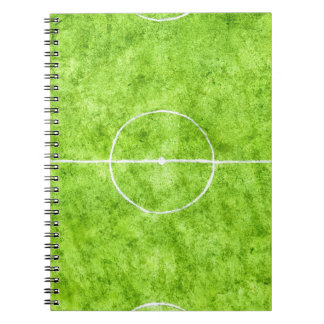 Soccer Field Sketch Notebook