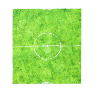 Soccer Field Sketch Notepad