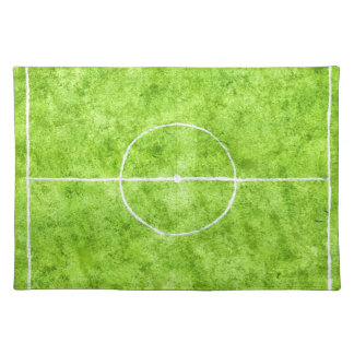 Soccer Field Sketch Placemat