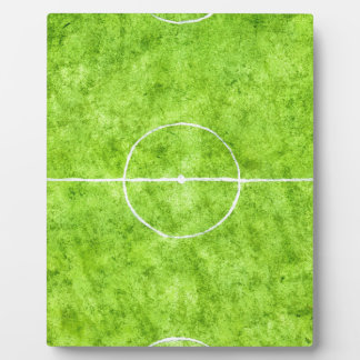 Soccer Field Sketch Plaque