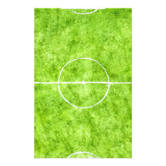 Soccer Field Sketch Stationery