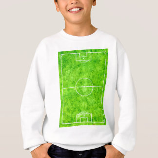Soccer Field Sketch Sweatshirt