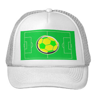Soccer Field Trucker Hat