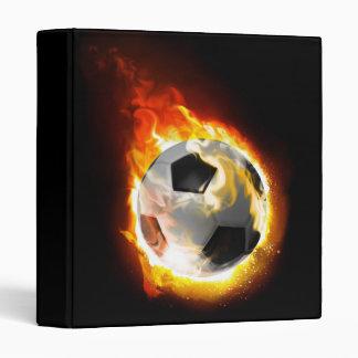 Soccer Fire Ball Binder