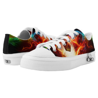 Soccer Fire Low-Top Sneakers