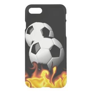 Soccer Flames iPhone 7 Case