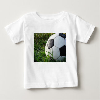 Soccer~ Foot Ball in field Baby T-Shirt