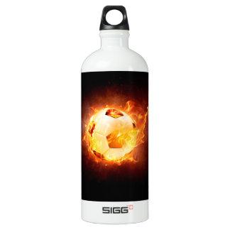 Soccer, Football, Ball under Fire