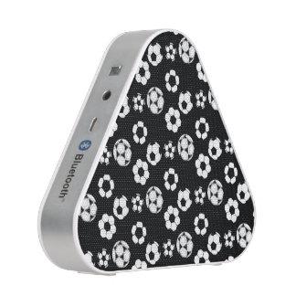 Soccer football black white pattern blueooth speaker