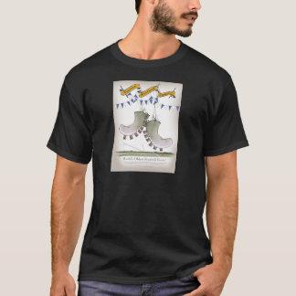 soccer football blue team boots T-Shirt
