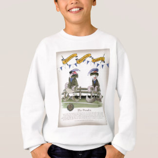 soccer football blue team pundits sweatshirt