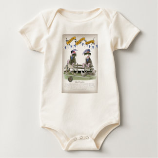 soccer football blues pundits baby bodysuit
