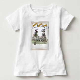 soccer football blues pundits baby romper