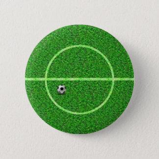 Soccer Football Field Ball - Button
