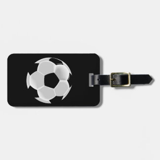 Soccer Football Futbol Ball Luggage Tag