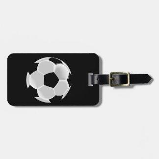 Soccer Football Futbol Ball Luggage Tag