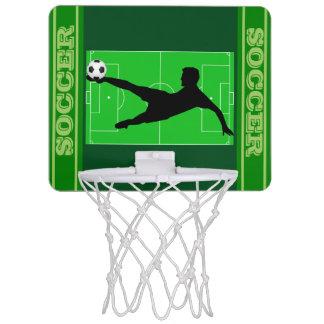 Soccer (football) mini basketball hoop