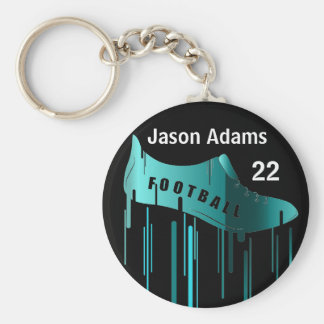 Soccer/Football personalized sports design Keychain