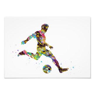 Soccer, football photo print