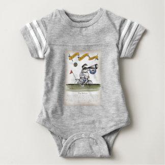 soccer football referee baby bodysuit