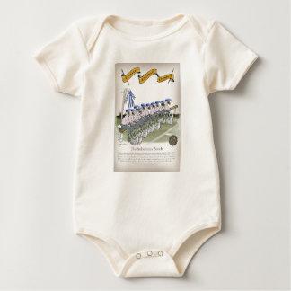 soccer football subs blue white stripes baby bodysuit